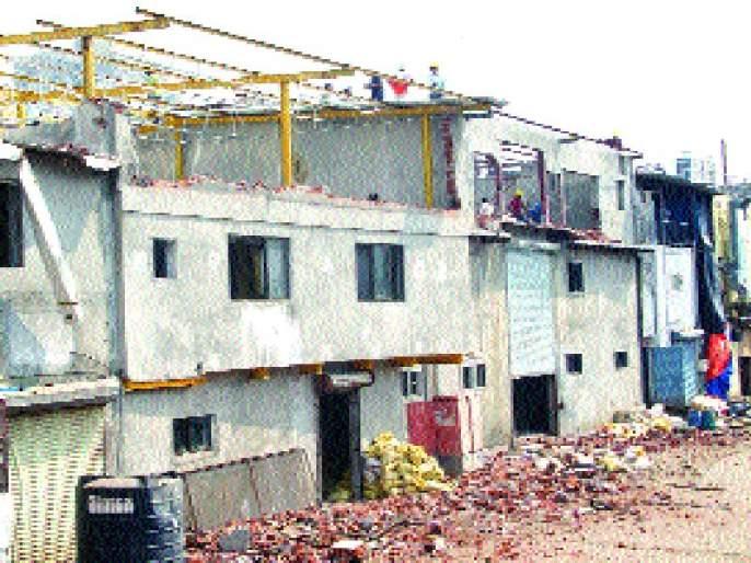 Hazardous building repairs starting Monday | अतिधोकादायक इमारत दुरुस्ती सोमवारपासून