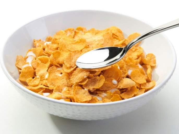 Are corn flakes healthy for weight loss?   वजन कमी करण्यासाठी कॉर्न फ्लेक्स हा पौष्टिक नाश्ता आहे?; जाणून घ्या खरं उत्तर