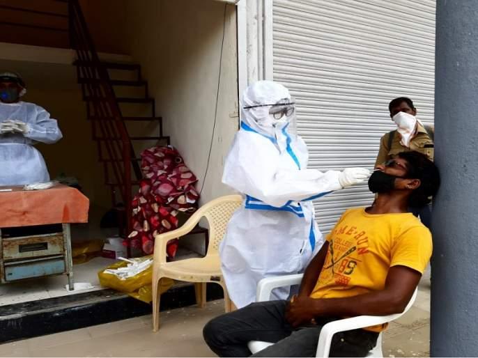 Comfortable! As testing increases, so does the number of corona patients decreases in Aurangabad City | corona virus in Aurangabad : दिलासादायक ! टेस्टिंग वाढवताच रुग्णसंख्या झपाट्याने कमी