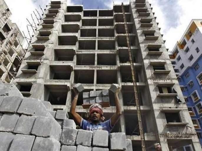 The month-long lockdown affected billions of constructions | महिनाभराच्या लॉकडाऊनने कोट्यवधींची बांधकामे प्रभावित