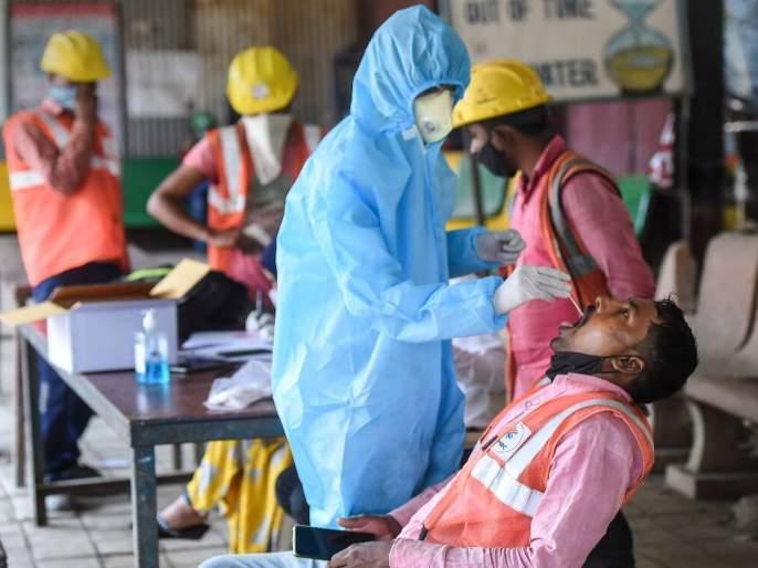 Slight decline in corona Virus patient numbers in Mumbai   मुंबईत रुग्णसंख्येत किंचित घट