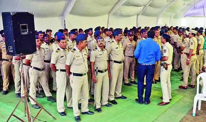 Maharashtra Assembly Election 2019 : 2500 police deployed for counting in Nagpur | Maharashtra Assembly Election 2019 : नागपुरात मतमोजणीसाठी २५०० पोलीस तैनात