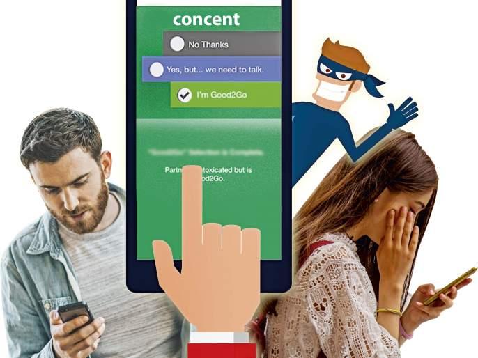 After #metoo rise of consent app | #metoo च्या वादळानंतर आता सहमतीच्या सेक्ससाठी 'कन्सेण्ट अॅप'
