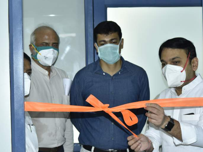 By RTPCR Lab at Bharti Hospital | corona virus-24तासात चाचणी अहवाल देण्यासाठी प्रयत्नशील