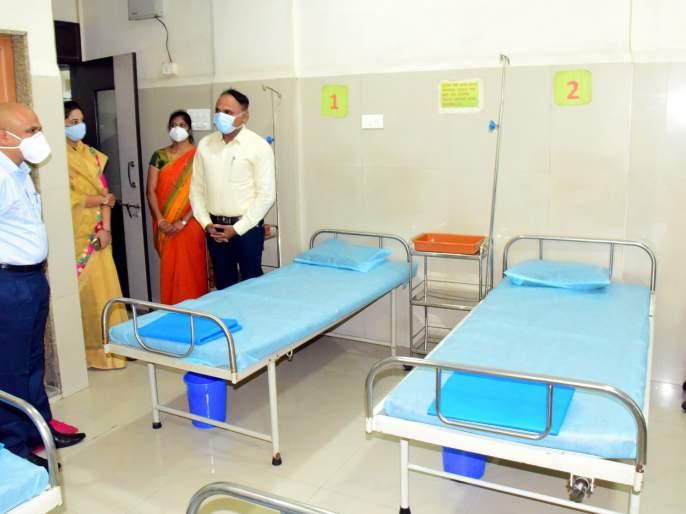 IGM with CPR, Gadhinglaj Kovid Hospital District Collector's order: Implementation will take place in ten days | सीपीआरसह आयजीएम, गडहिंग्लज कोविड रुग्णालये जिल्हाधिकाऱ्यांचे आदेश