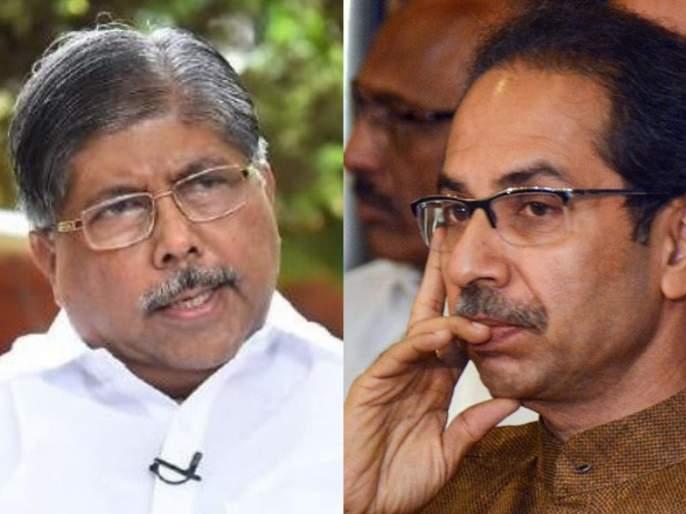 """Sachin Vaze Letter : """"Will we have to wait for the court order for Anil Parba's resignation?"""", chandrakant patil   Sachin Vaze Letter : 'अनिल परबांच्या राजीनाम्यासाठीदेखील न्यायालयाच्या आदेशाची वाट बघावी लागेल का?'"""