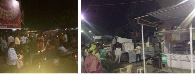 Police have demolished the premises of the criminals dens in Nagpur | पोलिसांनी उद्ध्वस्त केले नागपुरातील गुन्हेगारांचे अड्डे