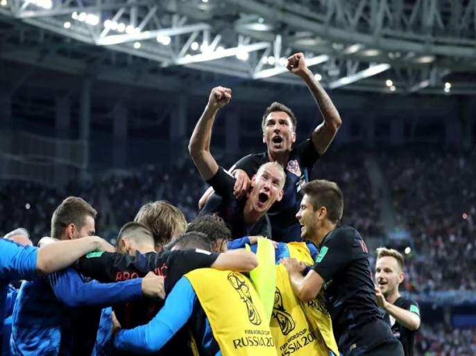 FIFA Football World Cup 2018: The 'Croats' of Yugoslav's 'Jeans'   FIFA Football World Cup 2018 : 'युगोस्लाव्ह'चे 'जीन्स' जोपासणारे 'क्रोएट्स'