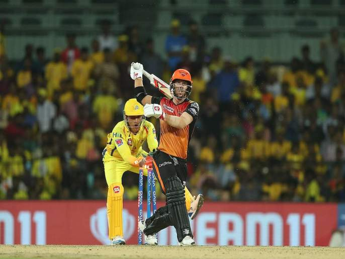 IPL 2019: WATCH: Can't mess with MSD's magic hands, quick stumping of david warner | IPL 2019 : धोनीचा Confidence, पंचांनी बाद देण्याआधीच केला हात वर, Video