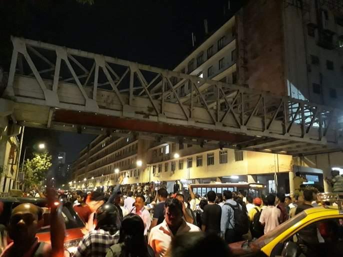 Mumbai Cst Bridge collapse: Death of a woman injured in Himalaya bridge accident; Number of dead | Mumbai Cst Bridge Collapse : हिमालय पूल दुर्घटनेतील जखमी महिलेचा मृत्यू; मृतांची संख्या ७