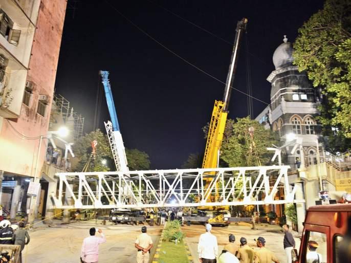 Mumbai CST Bridge Collapse: Structural Auditor D. D. Desai's expulsion will be put on black list | Mumbai CST Bridge Collapse: स्ट्रक्चरल ऑडिटर डी. डी. देसाईची हकालपट्टी, काळ्या यादीत टाकणार