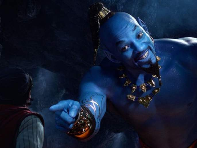 Will Smith's Genie From Aladdin Has Become an Internet Meme | विल स्मिथचा 'जिनी' अवतार अन् नेटकरी 'सैराट'!!