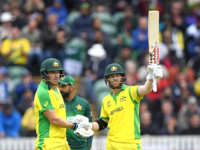 ICC World Cup 2019: David Warner was dismissed and Australia's downfall started | ICC World Cup 2019 : वॉर्नर बाद झाला अन् ऑस्ट्रेलियाचा डाव गडगडला