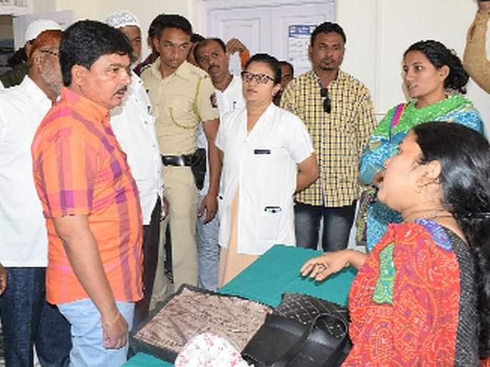 Movement in the treatment center with district hospital | जिल्हा रूग्णालयासह सर्वोपचार केंद्रात आंदोलन