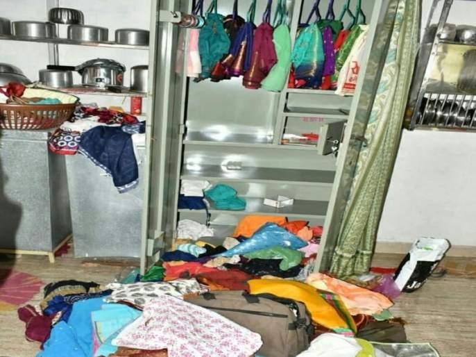 The thieves hit the Sakri Road area | चोरट्यांनी ठोकला साक्री रोड परिसरात मुक्काम
