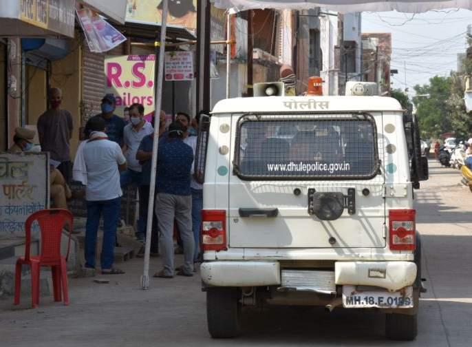 Accused arrested in Dhule murder case   धुळ्यात वृद्धाच्या खूनप्रकरणी आरोपीस अटक