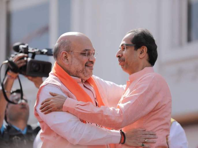 NCP takes nod on Uddhav Thackeray's visit Amit shahas rally's in gandhinagar   उद्धव ठाकरेंच्या गुजरातवारीवर राष्ट्रवादीकडून पोवाड्यातून खिल्ली