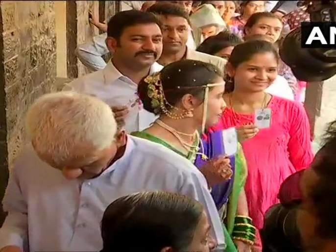 Lok Sabha Election Voting Live : तिसऱ्या टप्प्यात एकूण 63.24 टक्के मतदान पूर्ण | Lok Sabha Election Voting Live : तिसऱ्या टप्प्यात एकूण 63.24 टक्के मतदान पूर्ण