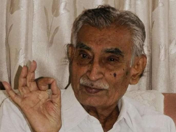 The great literary Prof. G. M. Pawar passed away | ज्येष्ठ साहित्यिक प्रा. गो. मा. पवार यांचे निधन