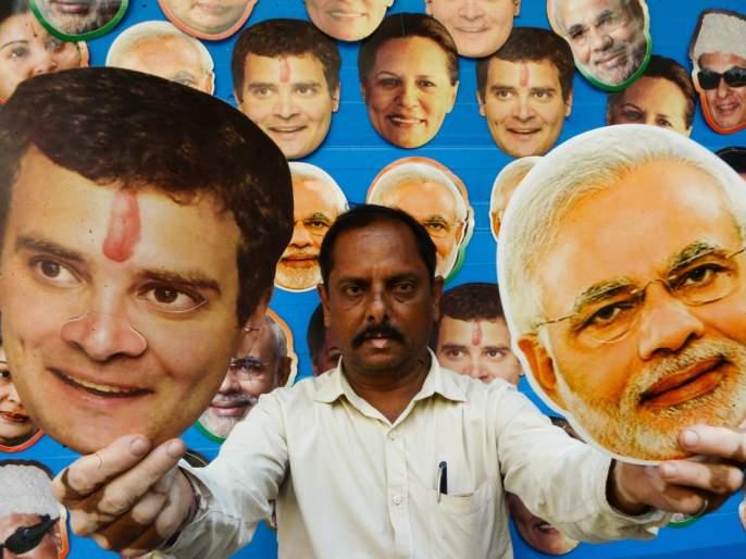 no more Modi wave in big cities; Lokmat watch on 86 constituencies | मोठ्या शहरांमध्ये मोदी लाट नाहीच; ८६ मतदारसंघांंमधील पाहणी