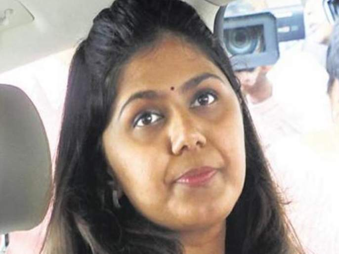 Pankaja Munde's way to the Legislative Council is difficult due to mahavikas aghadi | 'महाविकास आघाडी'मुळे पंकजा मुंडेंचा विधान परिषदेचा मार्गही खडतर