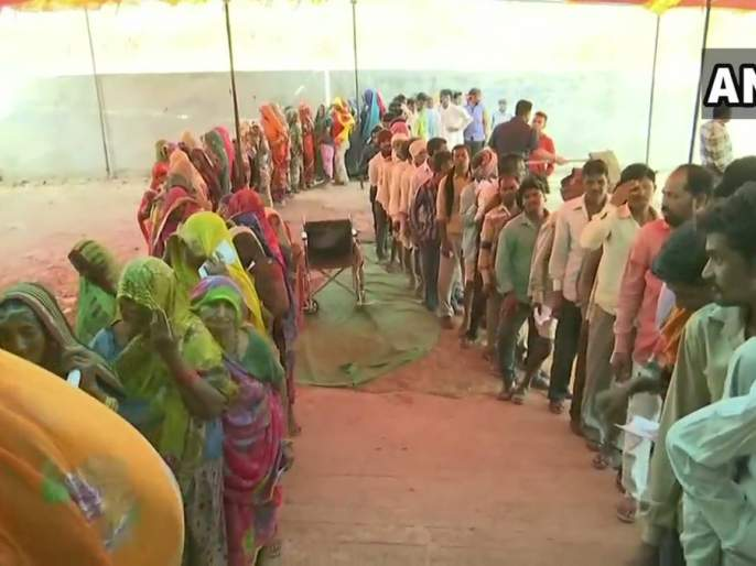 64 percent voting in seventh phase of lok sabha 2019   सातव्या टप्प्यात ६४ टक्के मतदान