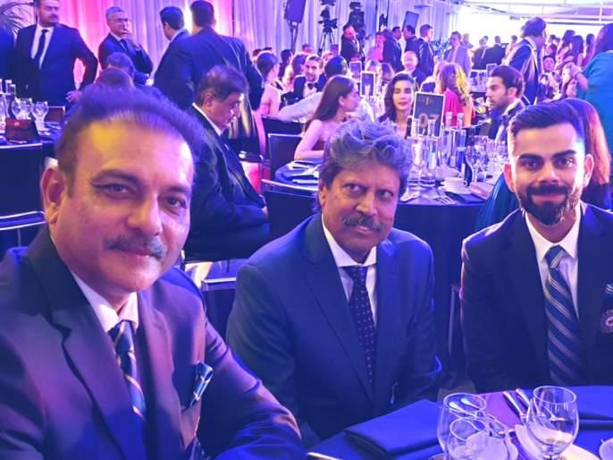 ICC World Cup 2019: Kapil Dev's special visit to Indian team | आयसीसी वर्ल्डकप 2019 : भारतीय संघाने घेतली कपिल देव यांची खास भेट