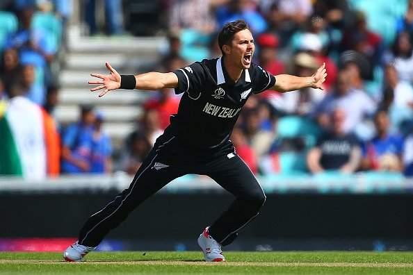 ICC World Cup 2019: Trent Boult has picked up three wickets in practice match | आयसीसी वर्ल्डकप 2019 : भारताला 'बोल्ट'चा झटका, रोहित, धवन आणि राहुलला केले बाद