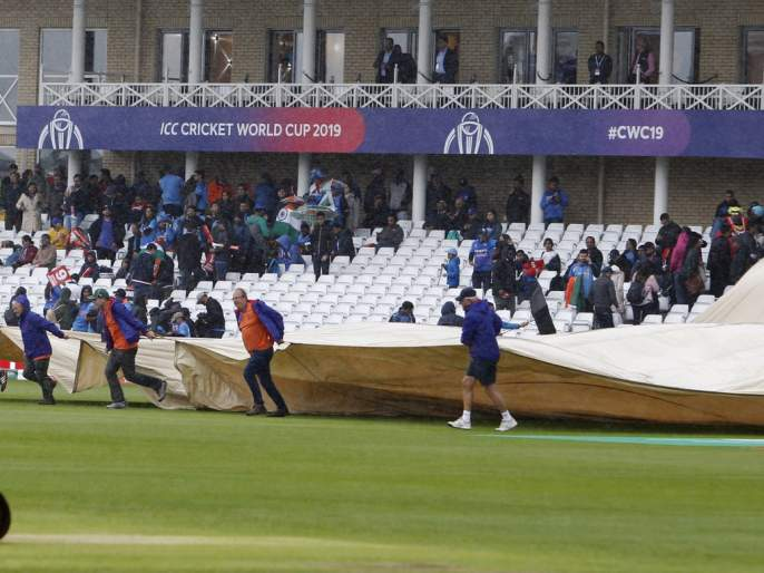 ICC World Cup 2019: Not due to rain, but due to 'this' reason the match is not likely to happen | ICC World Cup 2019 : पावसामुळे नाही तर 'या' कारणामुळे होतोय सामन्याला उशिर