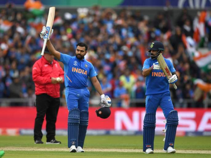 India vs Pakistan, Latest News: Rohit sharma and Virat Kohli bounce back against Pakistan, India given 337 runs target | India Vs Pakistan, Latest News: रोहित-कोहलीने वाजवला पाकिस्तानचा बँड, विजयासाठी दिले 337 धावांचे आव्हान