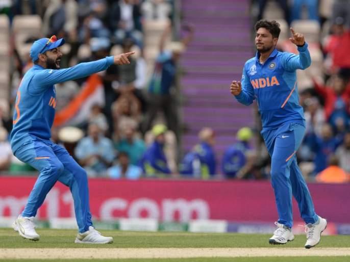 India vs Pakistan, Latest News: Chinnaman Kuldeep Yadav took two important wickets in the match | India Vs Pakistan, Latest News: चायनामन कुलदीप यादवने सामना भारताच्या बाजूने झुकवला
