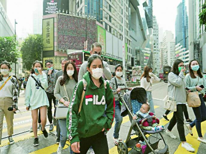 Corona: Travel ban in 13 cities in China   कोरोना : चीनमध्ये १३ शहरांत प्रवासावर बंदी