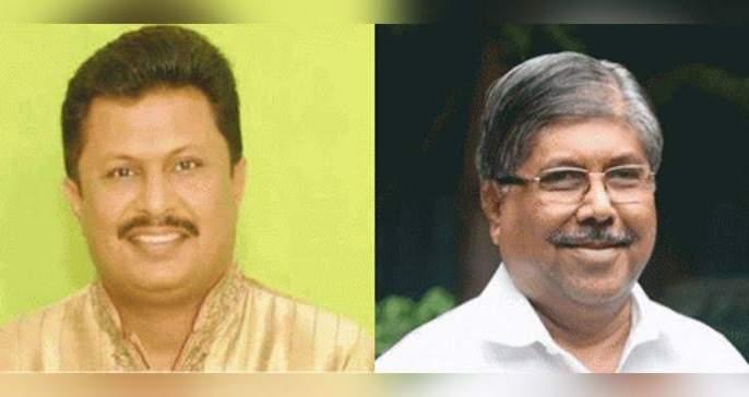 Shiv Sena's candidates Chandrakant Patil | Maharashtra Vidhan Sabha 2019 : शिवसेनेच्या उमेदवारांचे चंद्रकांत पाटील यांना साकडे