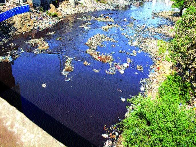Ulhas River Pollution   उल्हास नदी प्रदूषण : केडीएमसी आणि एमआयडीसीवर ताशेरे