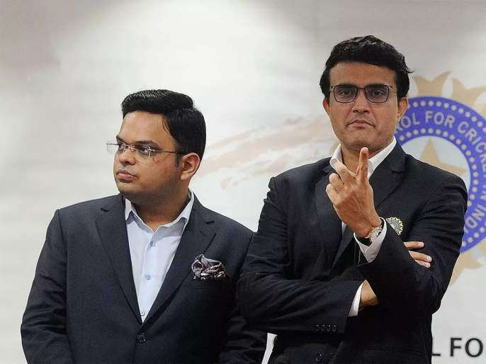 BCCI moves SC for full three-year terms for Sourav Ganguly and jay Shah svg   सौरव गांगुली अन् जय शाह यांच्यासाठी घटनाबदल; BCCIची सर्वोच्च न्यायालयात धाव