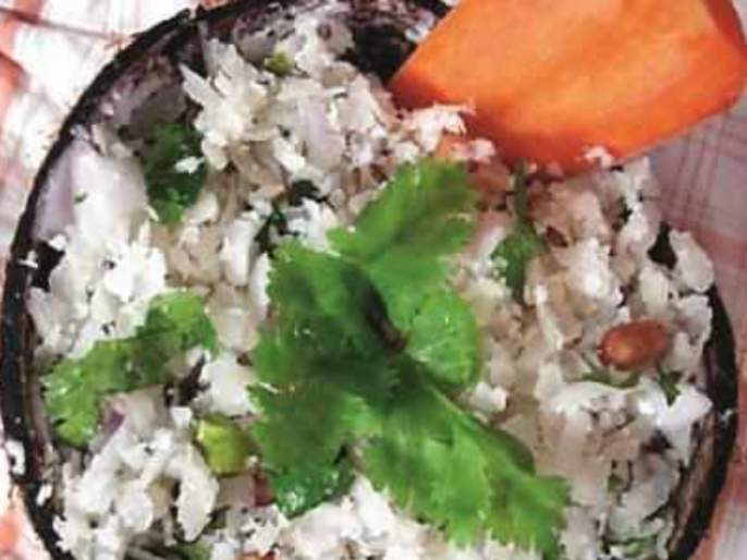 The traditional recipe of Dadpe Pohe   झटपट होणारे पारंपरिक दडपे पोहे