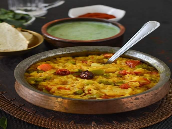 How to make dal khichdee at home | Dal Khichdi Recipe : हॉटेलस्टाईल चविष्ट दाल खिचडी, एकदा करून बघाच....