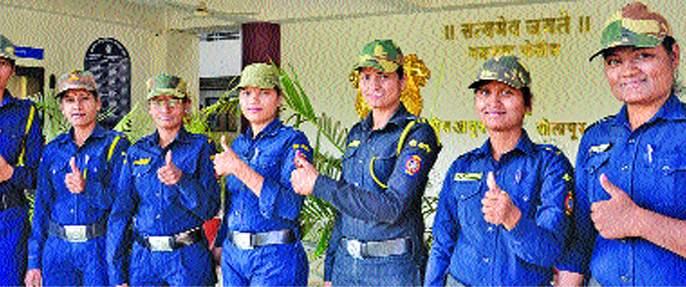 Women's Day Special: Solar City Police Force's 'Damini Thak' in RoadRominations! | Women's Day Special : छेड काढणाºया रोडरोमिओंना सोलापूर शहर पोलीस दलातील 'दामिनींचा धाक' !