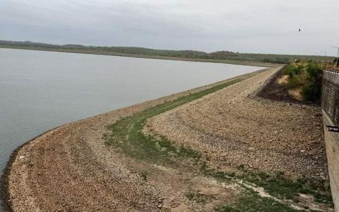 Water crisis t on Akola; 6.06 percent water storage in Katepurna Dam | अकोलेकरांवर जलसंकटाचे सावट;महान धरणात 6.06टक्के जलसाठा