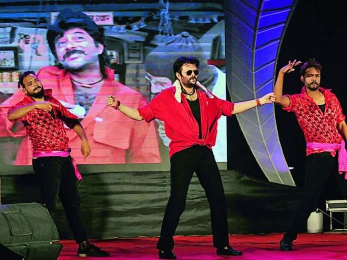 Anil Kapoor, who appeared says as 'One Two Ka Four'   'वन टू का फोर' म्हणत अवतरला अनिल कपूर
