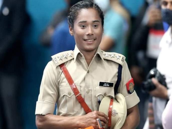 Suvarnakanya Hima Das became Deputy Superintendent of Police | सुवर्णकन्या हिमा दास झाली पोलीस उपअधीक्षक