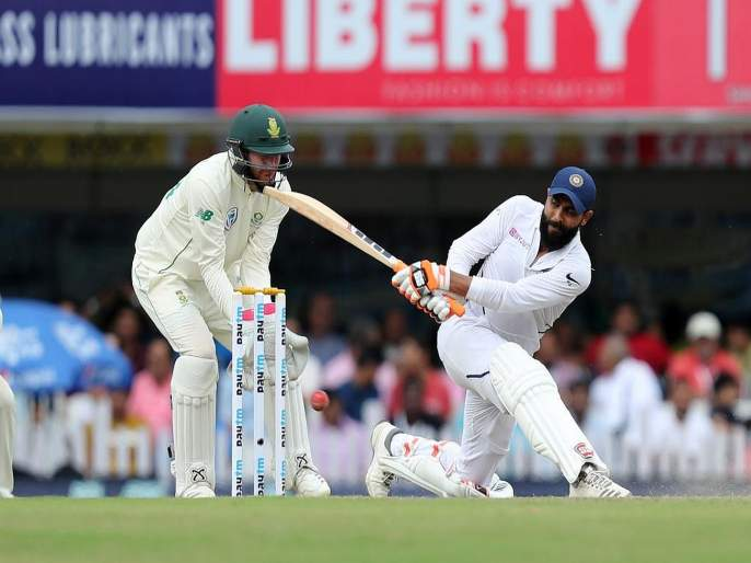 India vs South Africa, 3rd Test: India declare at 497/9 on Day 2 against South Africa at Ranchi | India vs South Africa, 3rd Test : भारताच्या फलंदाजांनी गाजवलं मैदान, आफ्रिकेसमोर उभा केला धावांचा डोंगर