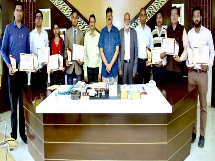 Prof. Ram Meghe Engineering Leather Selection for State Level Tournament | प्रो. राम मेघे अभियांत्रिकीच्या चमूची राज्यस्तरीय स्पर्धेसाठी निवड