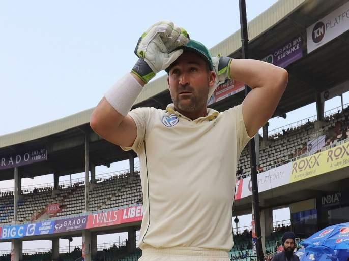 India vs South Africa, 3rd Test : Indian food, substandard hotels behind SA's poor form? Twitterati schools Dean Elgar for making bizarre remark | India vs South Africa, 3rd Test : निकृष्ट हॉटेल्स अन् भारतीय जेवण, याचा कामगिरीवर परिणाम; आफ्रिकन खेळाडूचा अजब तर्क