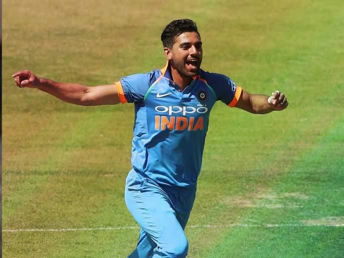 Deepak Chahar progressed by 7 places, Rohit remained seventh in batsmen | दीपक चाहरने केली ८८ स्थानांची प्रगती, फलंदाजांमध्ये रोहित सातव्या स्थानी कायम