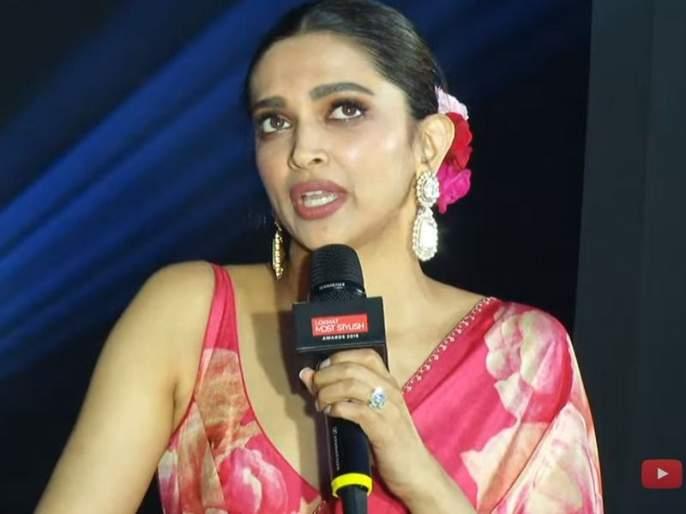 Lokmat Most Stylish Awards 2019 i will work in digital media in future says deepika padukone | Lokmat Most Stylish Awards 2019: पुढच्या 10 वर्षात काय काय करणार?; सांगतेय दीपिका पादुकोण