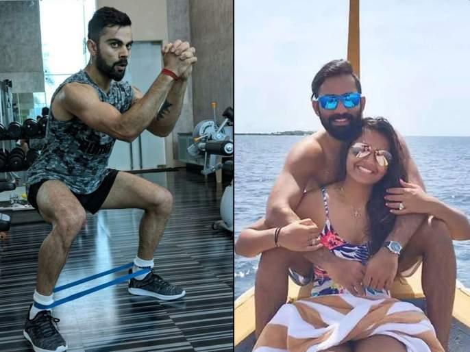 Virat Kohli's inspiration for fitness is Dinesh Karthik's wife deepika pallikal | ऐकावं ते नवलंच! दिनेश कार्तिकच्या पत्नीकडून विराट कोहलीने घेतली फिटनेससाठी प्रेरणा
