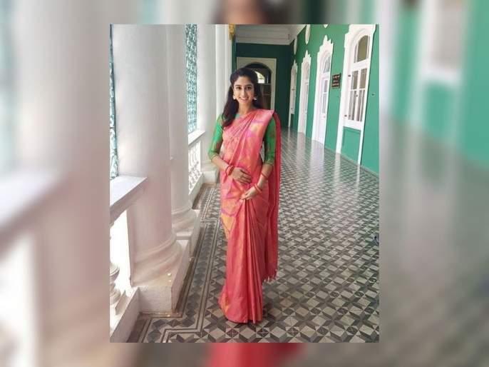 'Lucky' Fame Deepti Sati will look at the traditional look | 'लकी' फेम दीप्ती सतीचा ट्रेडिशनल लूक पाहून व्हाल थक्क