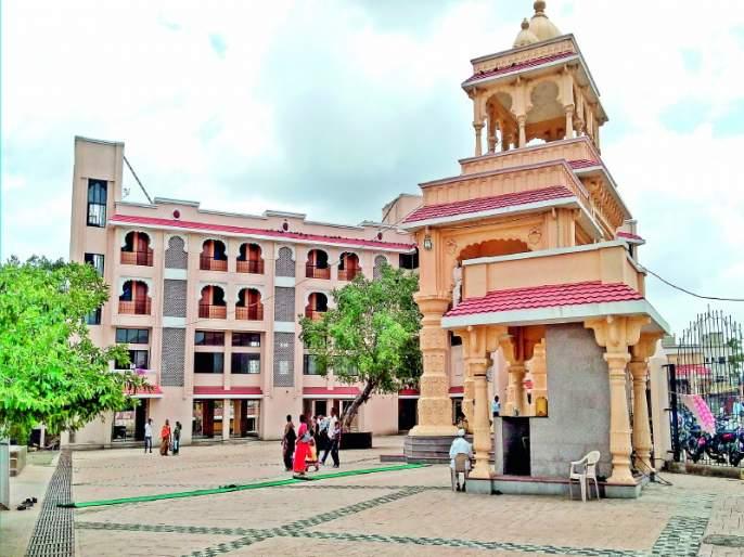 building of bhaktaniwas transfer at Dehu   देहू येथील भक्तनिवासाचे होणार हस्तांतरण
