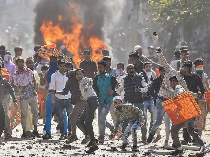 Delhi Violence:… ACP Anuj Kumar tell their terrible experience of Delhi Violence BKP | Delhi Violence:…तरआमचंही लिंचिंग झालं असतं!ACPनीं सांगितला तो भयानक प्रसंग